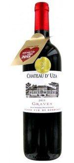 CHATEAU D'UZA 2011 (France - Vin Bordeaux - Graves AOC - Vin Rouge - 0,75 L)