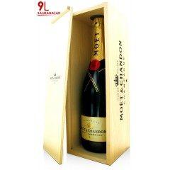 CHAMPAGNE MOET ET CHANDON - Brut Impérial - Salmanazar 9L (France - Champagne - Champagne AOC - Champagne Blanc - 9 L)