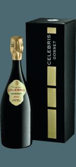 CHAMPAGNER GOSSET CELEBRIS VINTAGE 2002 - GESCHENKBOX